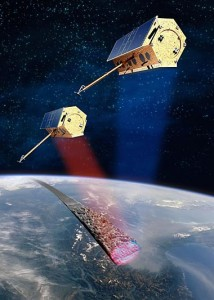 Satellites TerraSAR-X and TanDEM-X