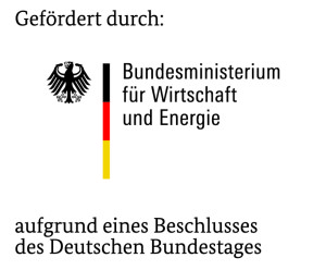 Funded by the German Federal Ministry for Economic Affairs and Energy